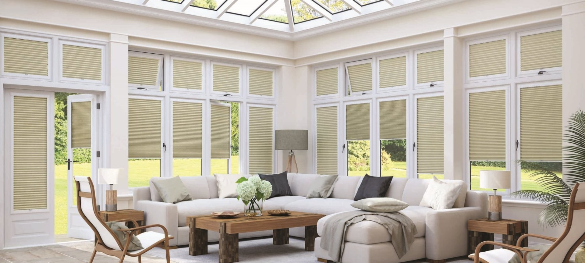 Conservatory shutters
