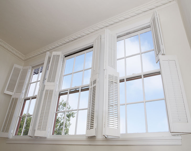 shutters for wide widows